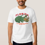 Florida - Where Living Life is Always on the Edge Tshirts