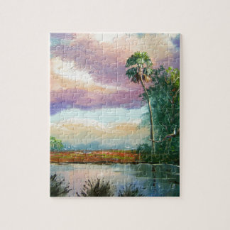Florida Wilderness Painting Jigsaw Puzzles
