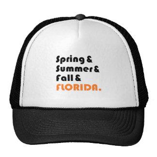 Florida Winter Trucker Hat