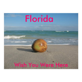 FLORIDA, Wish You Were Here, Postcard