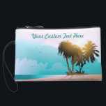 "Florida Wristlet<br><div class=""desc"">Fond of Florida's sandy beaches and clear water? This cool Sunshine State souvenir will surely make you think of them!</div>"