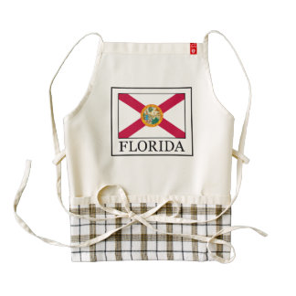 Florida Zazzle HEART Apron