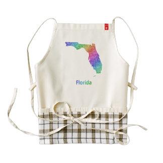 Florida Zazzle HEART Apron