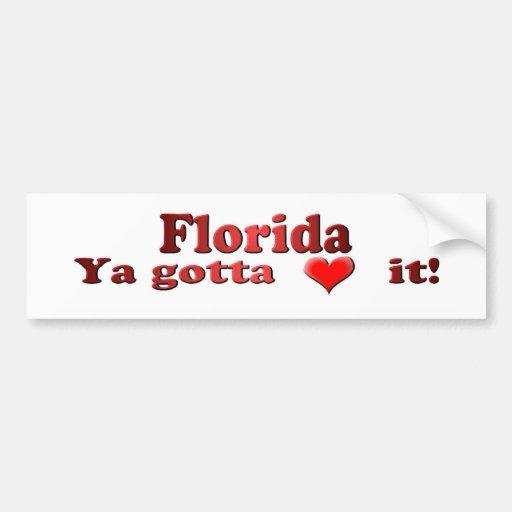 FloridaBump Pegatina Para Auto