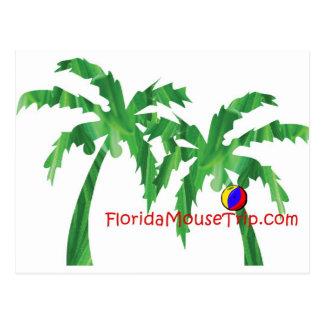 FloridaMouseTrip-COM Tarjeta Postal