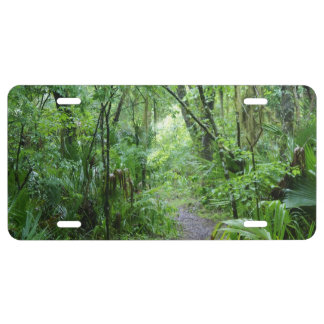 Florida's Enchanted Forest License Plate