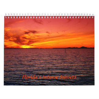 Florida's Intense Sunsets Calendar