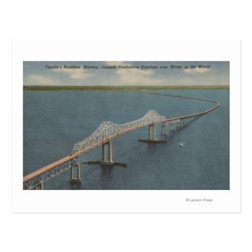 Florida's Sunshine Skyway BridgeFlorida Postcard