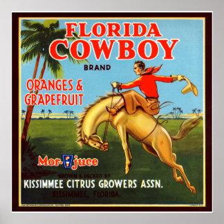 Floriday Cowboy Poster