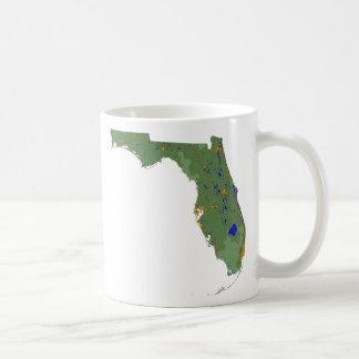 Floridian Flag + Map Mug