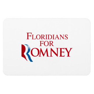 FLORIDIANS FOR ROMNEY.png Rectangular Photo Magnet