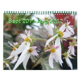 Florido Calendarios De Pared