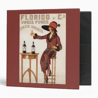 Florido Vinos Finos - Sanlucar de Barrameda Binder