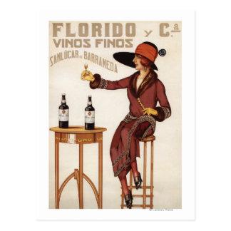 Florido Vinos Finos - Sanlucar de Barrameda Postcard