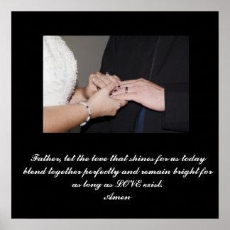 Florilla's Customized Wedding Poster