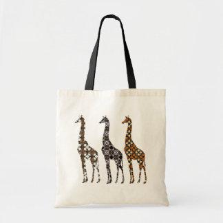 Florilla's Giraffe Tote Bag
