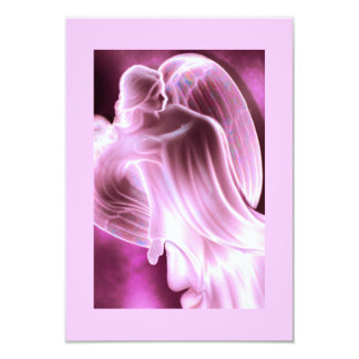 Florilla's Pink Angel Prayer Card