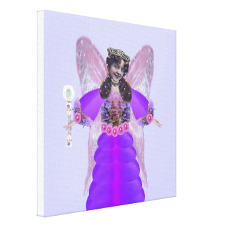 Florina The Garden Fairy Queen Canvas Print