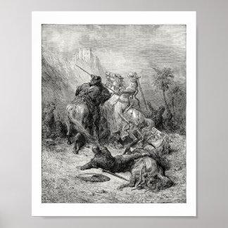 Florine de Borgoña Posters