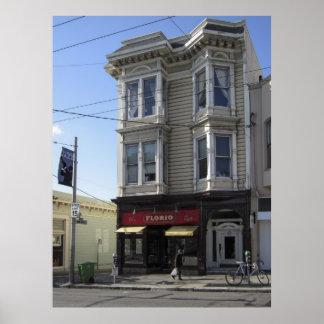 FLORIO BAR and CAFE - SAN FRANCISCO Poster