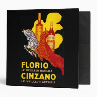Florio Cinzano Vintage PosterEurope Binder
