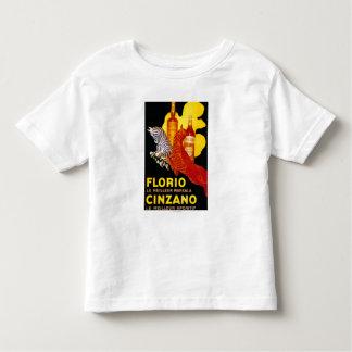 Florio Cinzano Vintage PosterEurope Shirt
