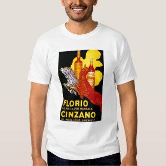 Florio Cinzano Vintage PosterEurope T-shirt