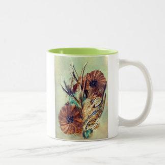 Florish Two-Tone Coffee Mug