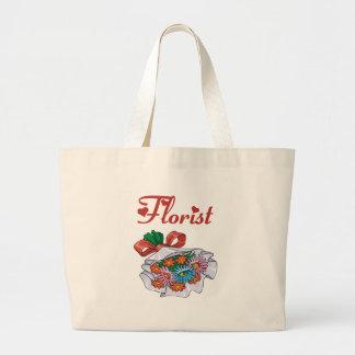 Florist Bouquet Tote Bag