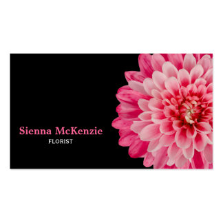 Florist Double-Sided Standard Business Cards (Pack Of 100)