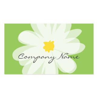 Florist business card template for flower shop