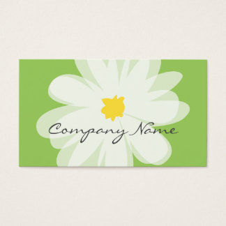 Florist business card template for flower shop