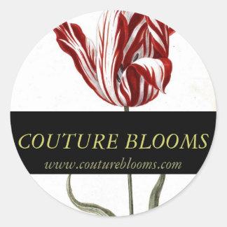 Florist Business Stickers Elegant Couture