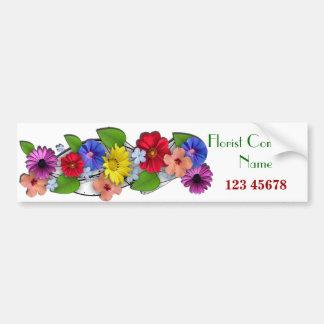 Florist Business Theme Collection Bumper Sticker