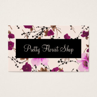 Florist Floral Business Cards