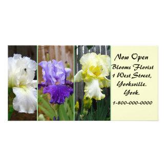 Florist Letter Box Advertising Card