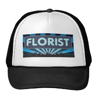 Florist Marquee Hats
