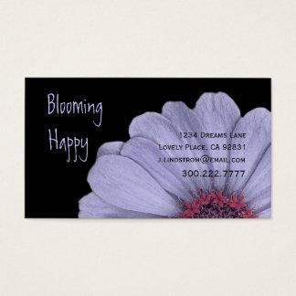 FLORIST - PERIWINKLE PURPLE DAISY Business Card