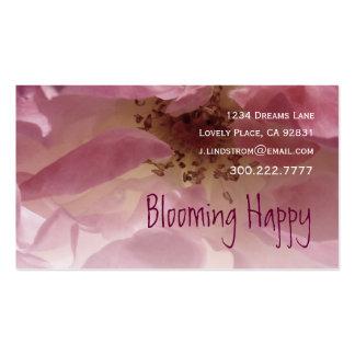 FLORIST -Pink Rose Business Card Template