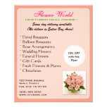 Florist_Promotion (aviador) Tarjetas Publicitarias