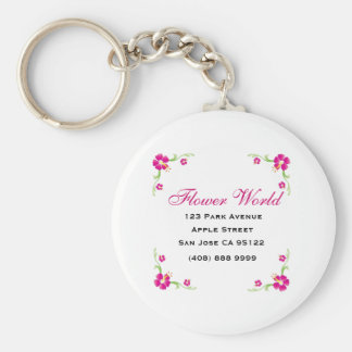 Florist_Promotion (Keychain) Basic Round Button Keychain