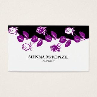Florist (Purple) Business Card