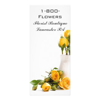Florist Rack Cards