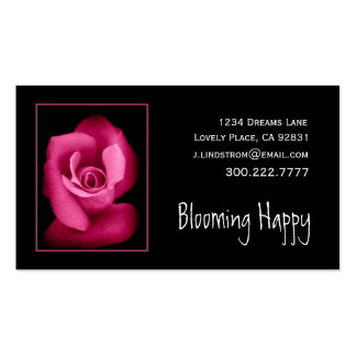 FLORIST - RED Rose Business Card Template