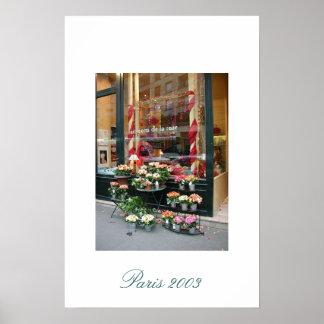 Florista 2003 de París Póster