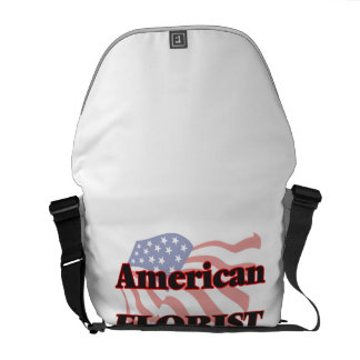 Florista americano bolsas de mensajeria