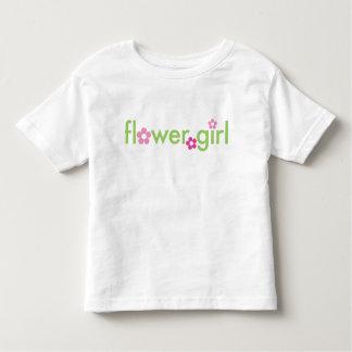 Florista - camiseta del niño playeras