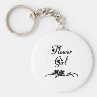 Florista clásico llavero personalizado