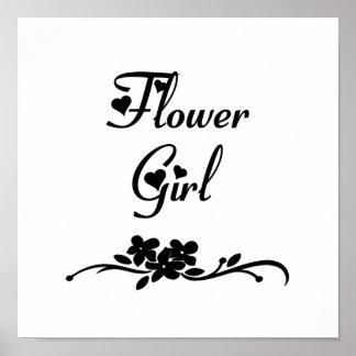Florista clásico posters