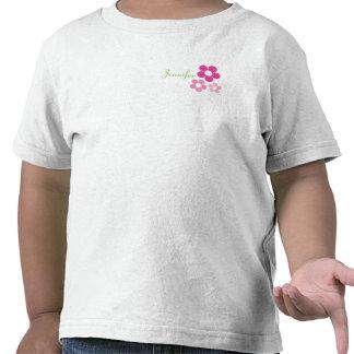 Florista con nombre - camiseta del niño